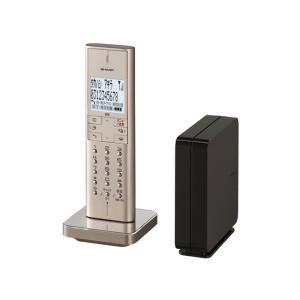 シャープ デジタルコードレス電話機 JD-XF1CL-N [ゴールド系]|amuseland
