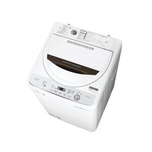 SHARP シャープ 簡易乾燥機能付き 4.5kg 全自動洗濯機 ES-GE4C amuseland