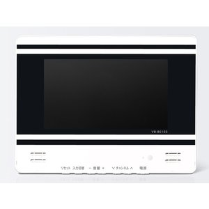ツインバード 10V型浴室テレビ VB-BS103W|amuseland