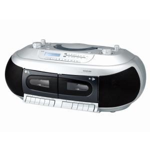 コイズミ CDダブルラジカセ SAD-4937|amuseland
