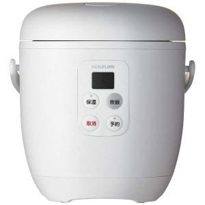 コイズミ 炊飯器(1.5合炊き) ライスクッカーミニ KSC-1513/W [ホワイト]|amuseland