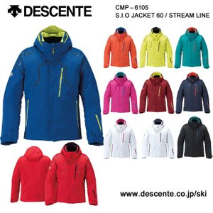 デサント DESCENTE スキーウェア ジャケット S.I.O JACKET 60 STREAM LINE CMP-6105 16-17