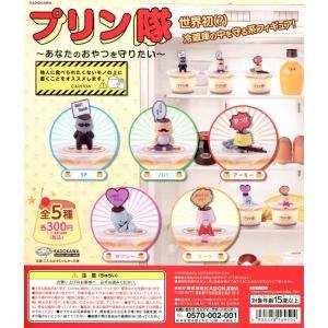 プリン隊 あなたのおやつを守りたい 全5種セット コンプ コンプリート amyu-mustore