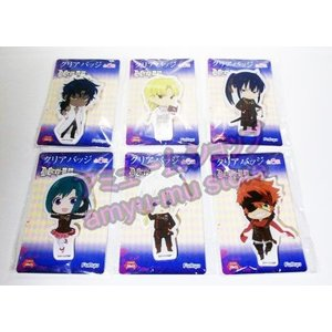 D Gray man HALLOW クリアバッジ 全6種セット|amyu-mustore