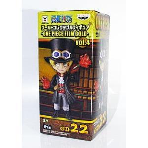 ワンピース ワールドコレクタブルフィギュア ONE PIECE FILM GOLD vol.4 サボ 単品|amyu-mustore