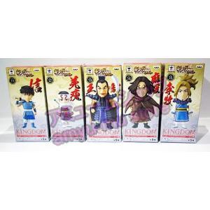 キングダム ワールドコレクタブルフィギュア vol.3 全5種セット|amyu-mustore