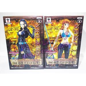 ワンピース DXF THE GRANDLINE LADY ONE PIECE FILM GOLD vol.2 ナミ ニコ・ロビン 全2種セット|amyu-mustore