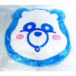 AAA え〜パンダ もっちりフェイスクッション2 與真司郎 ブルー|amyu-mustore