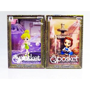 Disney Characters Q posket petit Tinker Bell・Belle 2種セット