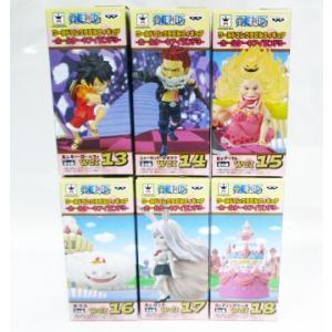 ワンピース ワールドコレクタブルフィギュア ホールケーキアイランド3 全6種セット