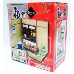 ぷちサンプル THE 和室 違い棚セット リーメント|amyu-mustore