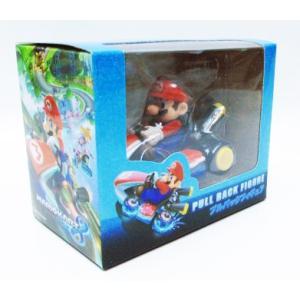 マリオカート8 プルバックフィギュア マリオ|amyu-mustore