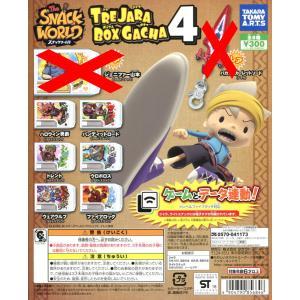 スナックワールド TRE JARA BOX GACHA トレジャラボックスガチャ4 ノーマル6種セット|amyu-mustore