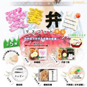 愛妻弁当マスコットBC 全5種セット|amyu-mustore