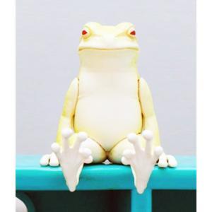 座る蛙 アルビノ|amyu-mustore
