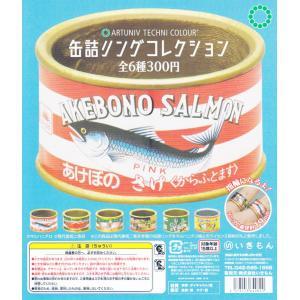 アートユニブテクニカラー 缶詰リングコレクション 全6種セット|amyu-mustore