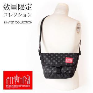 マンハッタンポーテージ 正規品 限定モデル Manhattan Portage メッセンジャーバッグ ショルダーバッグ Casual Messenger Bag Dot Print MP1603PDDOT19|anagram