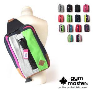 クーポン配布中 ジムマスター gym master メガジップ ビッグボディバッグ アウトドア スウェット コットン素材 G439502|anagram