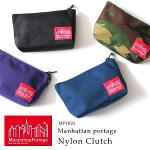 クーポン配布中 マンハッタンポーテージ 正規品 ナイロンクラッチバッグ ポーチ Manhattan Portage Nylon Clutch Bag|anagram