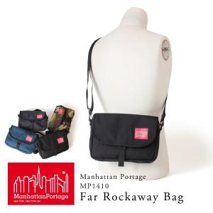 クーポン配布中 マンハッタンポーテージ 正規品 Manhattan Portage ショルダーバッグ 斜めがけ Far Rockaway Bag MP1410 ミニショルダー|anagram