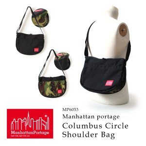 クーポン配布中 マンハッタンポーテージ 正規品 コロンブスサークルショルダーバッグ 斜めがけバッグ Manhattan Portage Columbus Circle Shoulder Bag MP6053|anagram