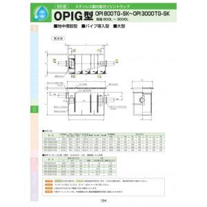 OPIG型 OPI-3000TG-SK 耐荷重蓋仕様セット(マンホール枠:ステンレス / 蓋:ステンレス ) T-20