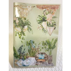 【公式】限定表紙 Houseplants(アナログママ)analogmama 受験スケジュール帳 <...