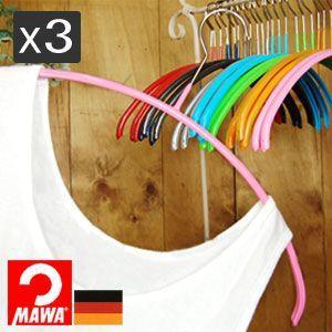 マワ(MAWA) ハンガー レディースライン40 3P|analostyle