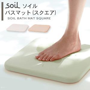 土でできたバスマット、という新しい発想。呼吸をするように、水分を吸ってすばやく乾燥させてくれるので、...