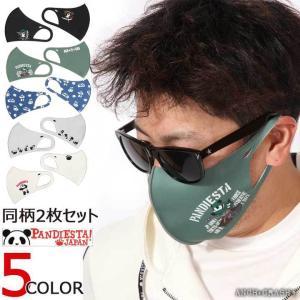 PANDIESTA パンディエスタ 3Dマスク 吸水速乾 抗菌防臭加工 2枚セット 530574 熊...
