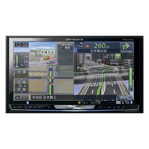 carrozzeria カロッツェリア 7V型ワイドVGA地上デジタルTV/DVD-V/CD/Bluetooth/USB/SD/チューナー・5.1ch対応・DSP AV一体型HDDナビゲーションAVIC-ZH0009 anchor
