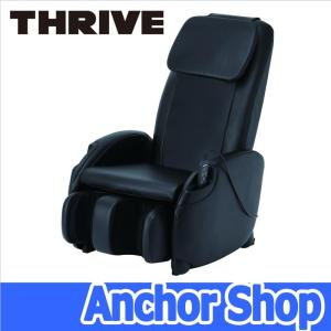 【送料無料・代引不可】スライヴ くつろぎ指定席 CHD-3400 (K)【ブラック色】コンパクト本格マッサージチェア|anchor