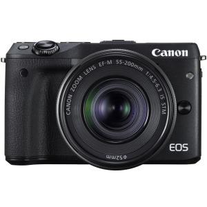 キャノン(CANON)ミラーレス一眼カメラ「EOS M3」ダブルズームキット(ブラック)|anchor