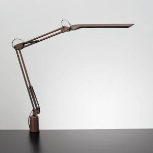 【送料無料】山田照明(ヤマダ) |Z-Light(ゼットライト)|クランプ型LEDライト|ブラウン×ブラック|調色|白熱80W相当|Z-N1100BR|anchor