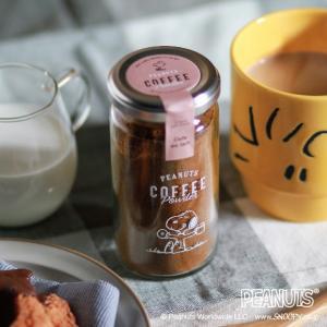 父の日 ギフト スヌーピー コーヒーパウダー 45g カフェオレ専用  イニックコーヒー INIC coffee|and-clinic