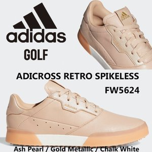 アディダス adidas ADICROSS RETRO SPIKELESS アディクロス レトロ スパイクレス ゴルフシューズ レディース FW5624 US正規品 送料無料 US直輸入