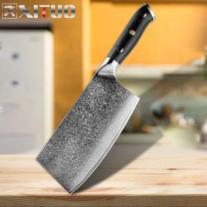 XITUO  菜切り包丁 刃渡り 18cm  VG10  ks20082318