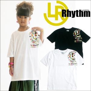 ダンス フィットネスウェア ジュニア キッズ レディース メンズ  バスケット ルーズTシャツ トップス le-Rhythm リアリズム ダンス 衣装 ヒップホップ|andastnd