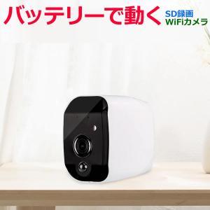 ベビーカメラ バッテリー IPカメラ 屋外 ワイヤレス  200万画素 1080P  wifi カメラ 防水 暗視 夜間  av-ipcam04smb 工事不要|andavision