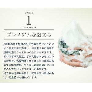 男の乾燥肌対策に!上質な肌あたり、プレミアムな泡で洗う。 プレミアムボディータオル ザ・ホイップ|andbeauty|09