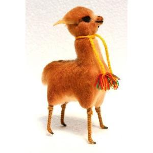 newモデル。ラクダ科の動物の中で最も高級な毛の動物「ビックーニャ」。 他には余りないモデルでハンド...