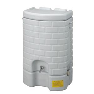 雨水タンク 雨水貯留タンク でガーデン作業と防災対策!住宅の外壁にマッチするデザインで、住宅外観や庭...