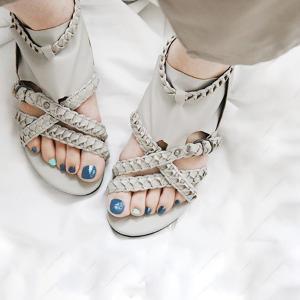 サンダル レディース ぺたんこ靴 大きいサイズ グラディエーターサンダル レディース|andit