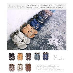 サンダル レディース ぺたんこ靴 大きいサイズ グラディエーターサンダル レディース|andit|11