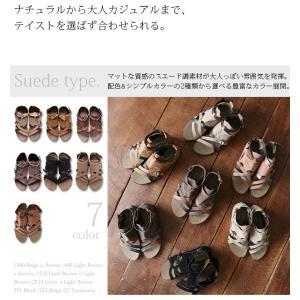 サンダル レディース ぺたんこ靴 大きいサイズ グラディエーターサンダル レディース|andit|13