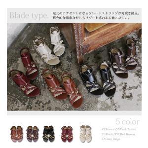 サンダル レディース ぺたんこ靴 大きいサイズ グラディエーターサンダル レディース|andit|16