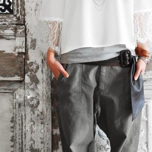 サッシュベルト 太ベルト 本革 レザー ファッション小物