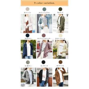 パーカー UVカット 紫外線対策 トップス 羽織り レディース 長袖|andit|05