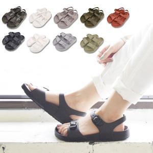 サンダル/レディース/コンフォートサンダル/ぺたんこ/ストラップサンダル/シューズ/靴/歩きやすい