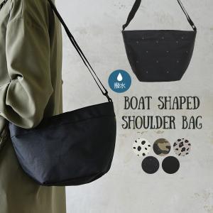 商品名:撥水加工付き舟形ショルダーバッグ  ■商品の特徴 毎日使えるデイリーショルダーバッグ。手荷物...
